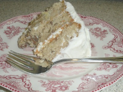 Poofing the Pillows Hummingbird Cake