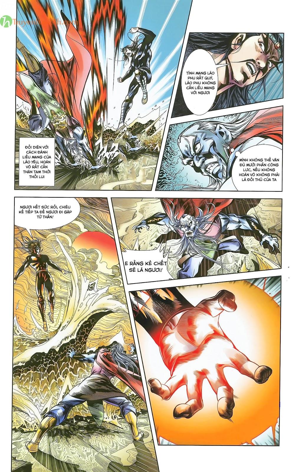 Tần Vương Doanh Chính chapter 28 trang 10