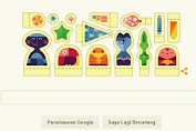 Welcomes the long holiday, wish a Happy Holidays Google Doodle Late
