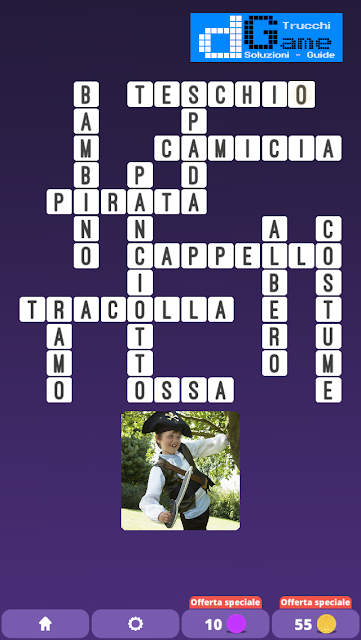 Soluzioni One Clue Crossword livello 7 schemi 15 (Cruciverba illustrato)  | Parole e foto