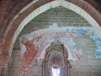 Ruinas Iglesia de Santiago interior