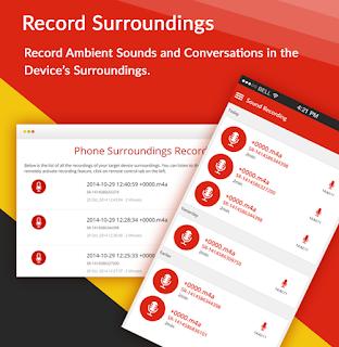 Record Surrounding iPhone X