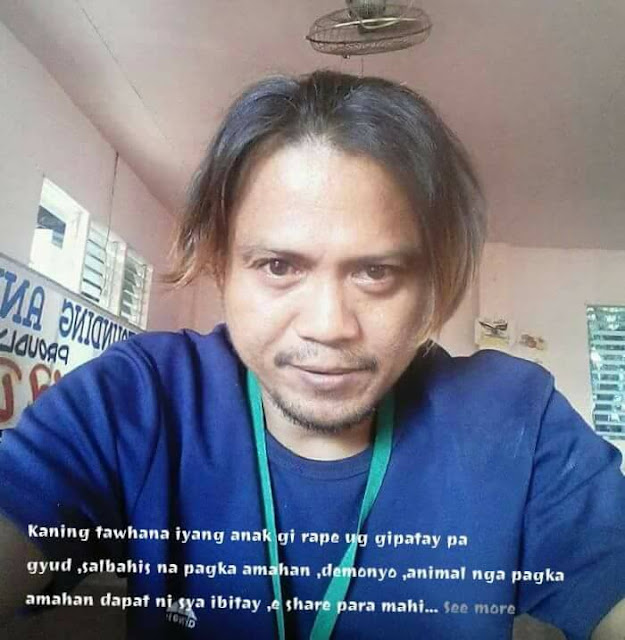 Father from Dipolog City Wanted for Rap3 and Murder of Own Daughter!