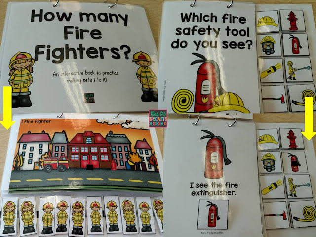 photo of fire safety interactive books