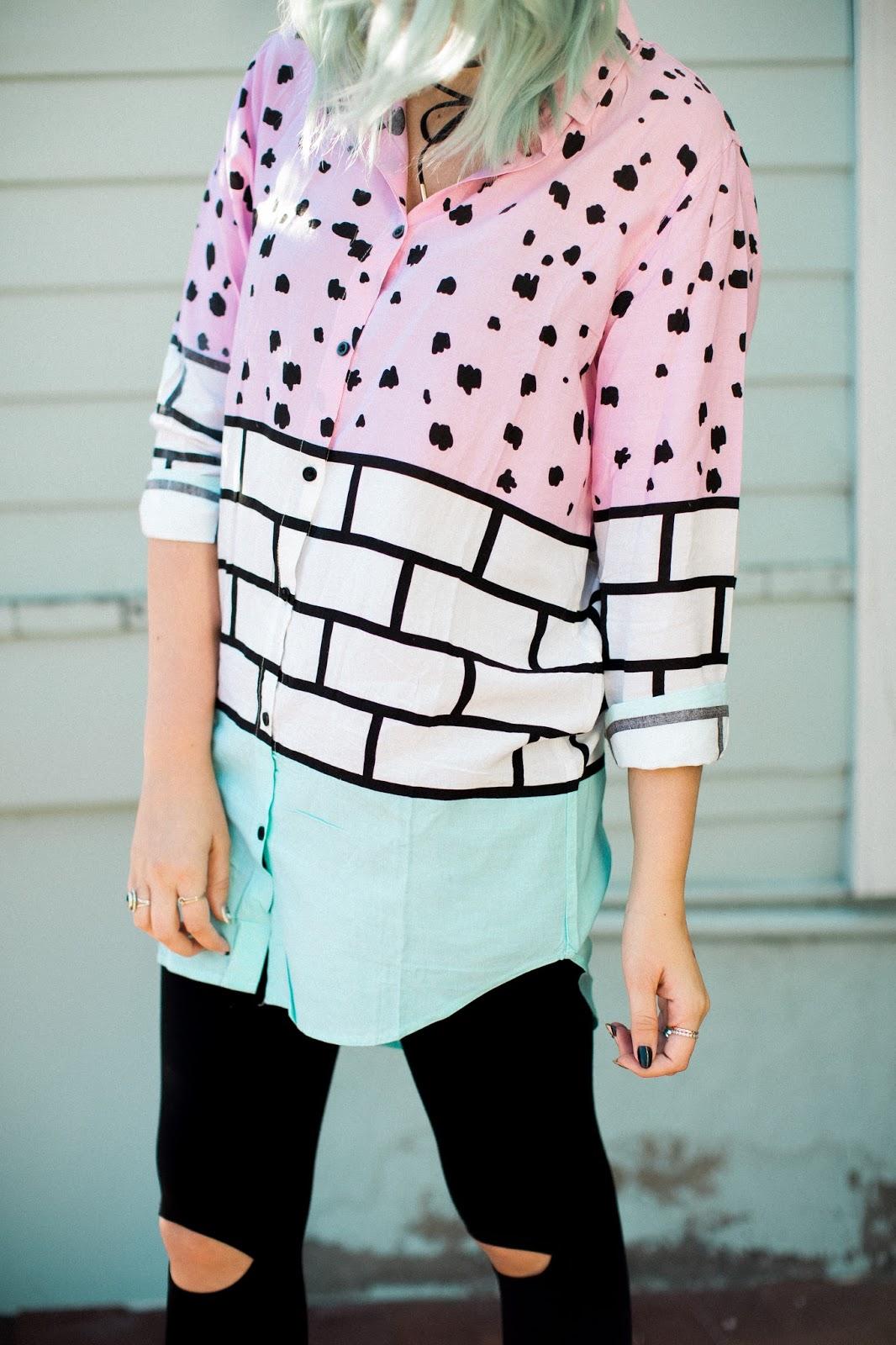 Choies, Utah Fashion Blogger, Button Down Shirt