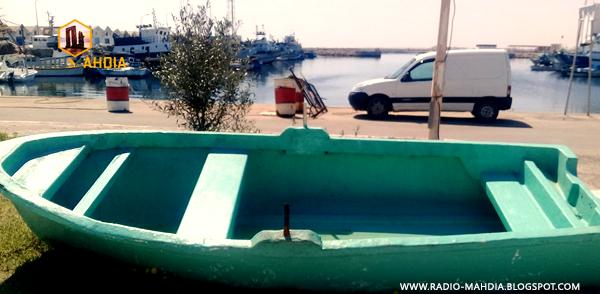 """بالصور : المركب الذي أغرق 10 """"حراقة"""" بسواحل المهدية"""