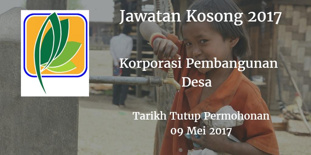 Jawatan Kosong Korporasi Pembangunan Desa 09 Mei 2017