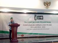 PB HMI Resmi Lantik Arven Marta Selaku Direktur Eksekutif Bakornas LEMI PB HMI