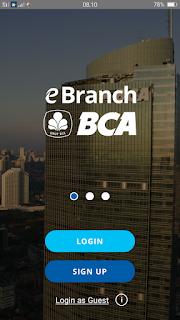 Lebih Mudah Buka Rekening dengan e-Branch BCA