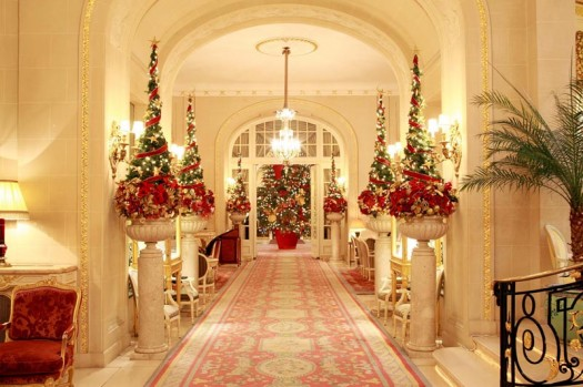 Decor me decoraci n de hoteles en navidad for Hotel decor for home