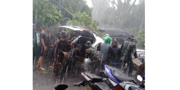 Foto Pasca Benca Angin Puting Beliung di Bogor 6 Desember 2018