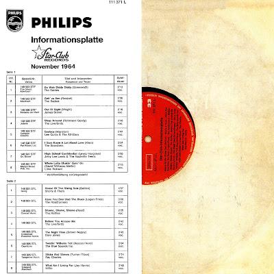 VA -  Star-Club Informationsplatte 1964