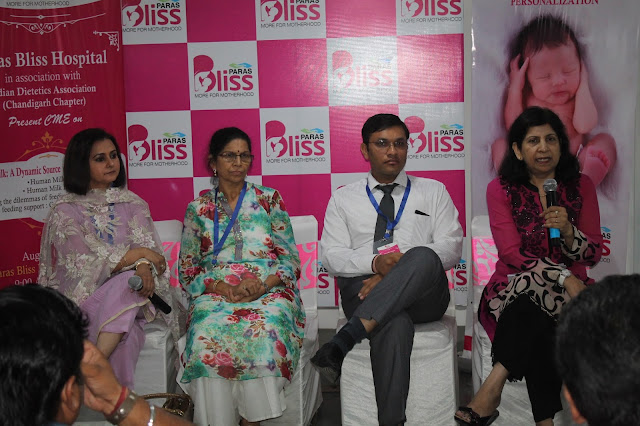 Dr Nirja Chawla, Director Gynecology & Obstetrics, Paras Bliss Hospital, Panchkula, Dr Gunjan Pannu, HOD, Clinical Nutrition and Dietitian
