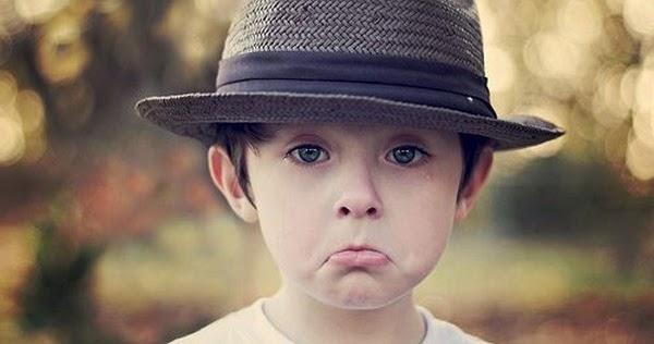 Crying Cute Kid Sad Alone Little Boy Beautiful