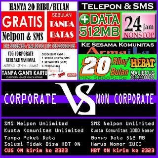Perbedaan Corporate dan Non Corporate 20K