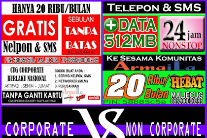 Perbedaan Corporate dan Non Corporate 20K