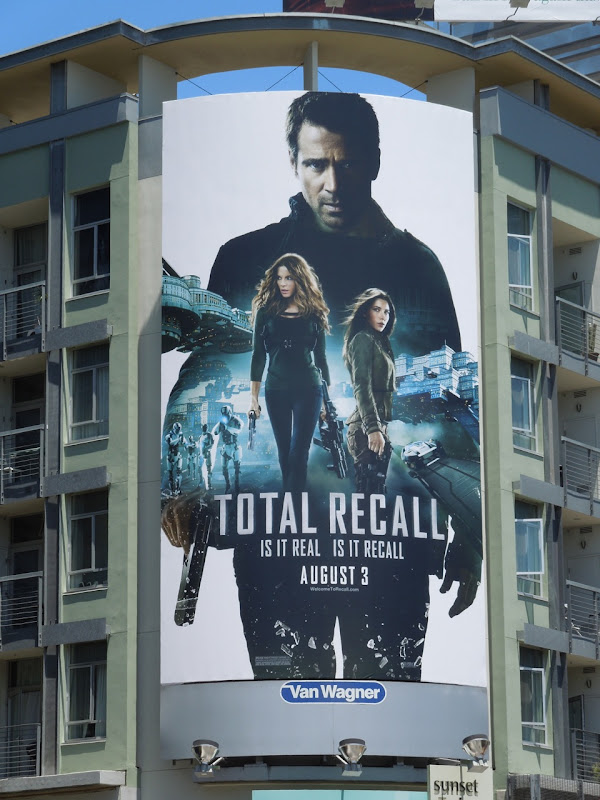 Total Recall remake billboard