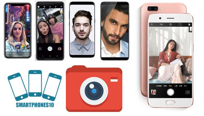 10 Smartphone Selfie Terbaik Edisi Tahun 2017