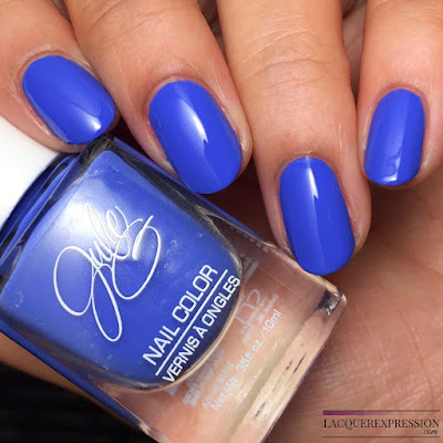 nail polish swatch of JulieG Julie G Cabana Boy