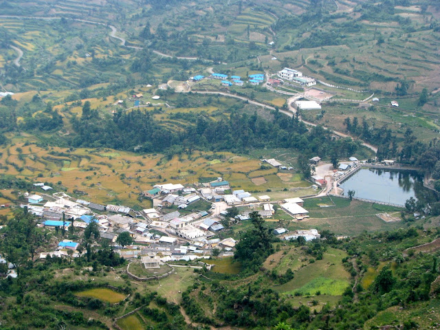 Barsu village from a distance
