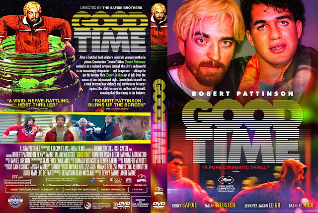 Good Time DVD Cover
