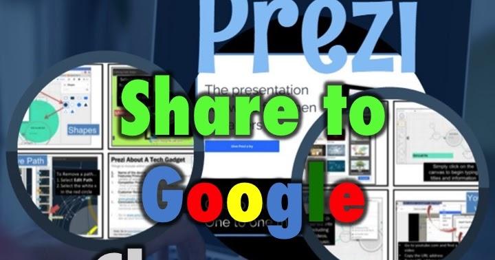 how to share a prezi on google drive