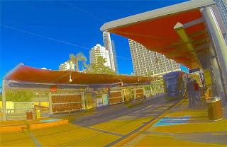 Cyprus Avenue Light Rail Station
