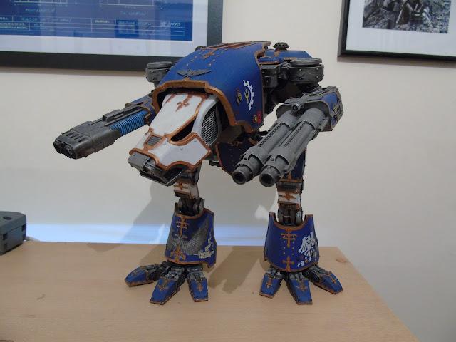warhound titan legio hasta ravan guard ravenguard 30k horus heresy