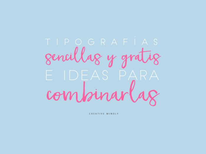TIPOGRAFIAS BONITAS SENCILLAS DESCARGAR