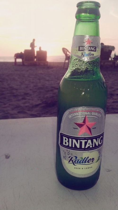 Bintang beer in botle