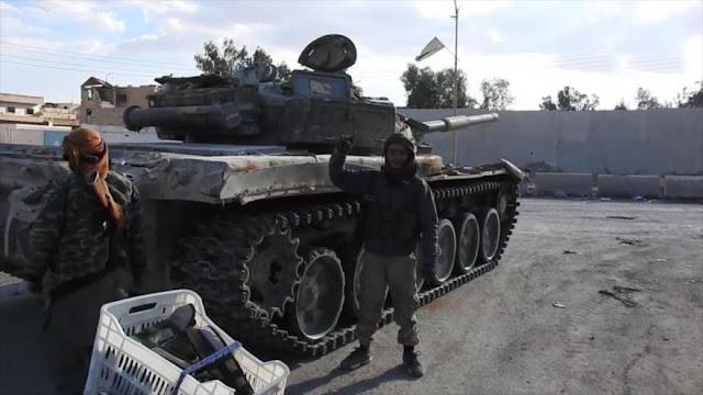 Independent: EEUU facilitó a EIIL huir de Irak para tomar Palmira