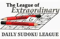 Daily Sudoku League Puzzles