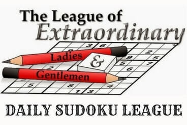 Daily Sudoku League Puzzles
