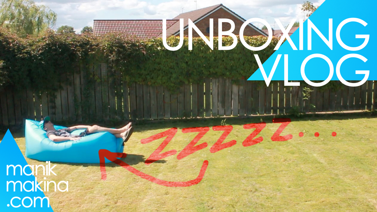 Unboxing Vlog: Air Sofa