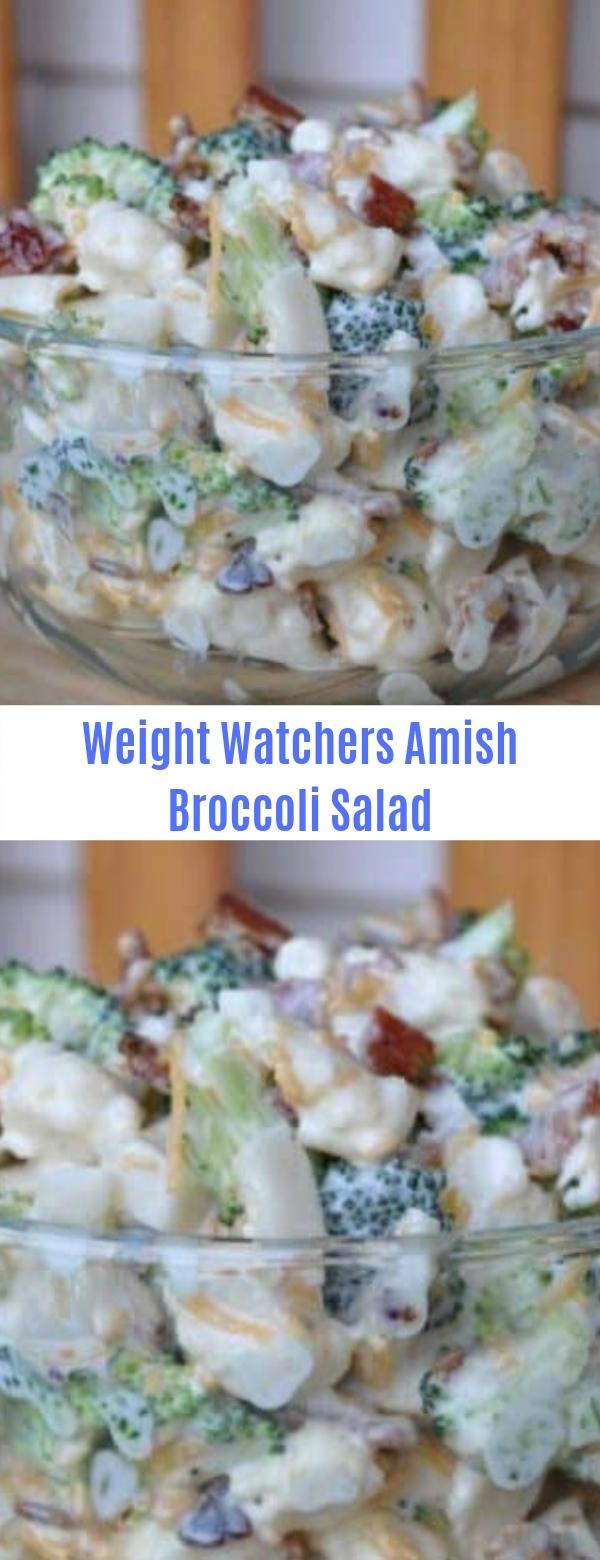 Weight Watchers Amish Broccoli Salad