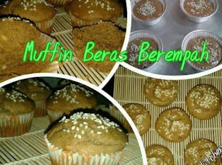 Buat Muffin Beras Berempah