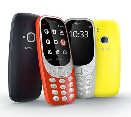 MWC 2017 - Video: tested the solidity of the new Nokia 3310