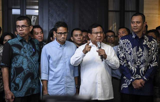 Prabowo: Walaupun PDIP, Kwik Kian Gie jadi Penasihat Saya demi Indonesia