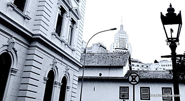 Edifício Banespa (Farol do Santander), Centrão de São Paulo