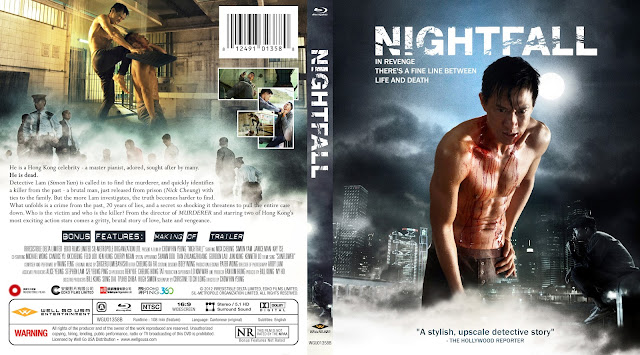 Nightfall (Dai zeoi bou) Bluray Cover