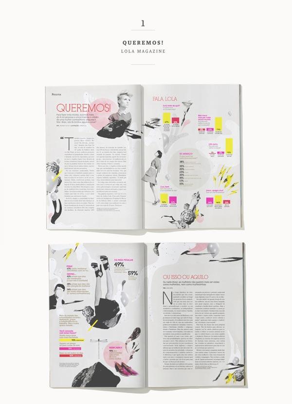 30 Stylish Examples Of Layouts In Magazine Design Jayce