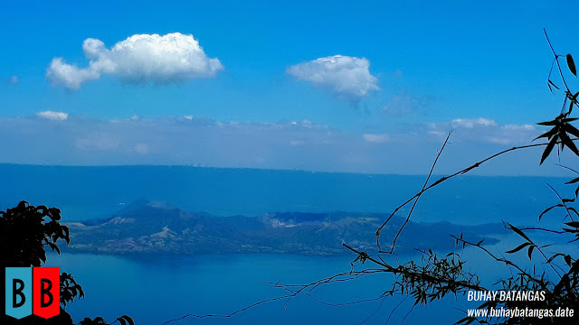 Taal Volcano Main Island Crater seen from the small plateau just after Station 12.