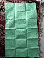 karung  plastik  warna hijau  dinier 650   karung hijau ukuran   56x90/10/650 harga 1350  karung hijau ukuran  60x100 cm /10/650 harga 1630  karung hijau ukuran  65x105 cm /10/650 harga 1790  karung hijau ukuran  675x115 cm /10/650 harga  2290  ambil minim 10.000