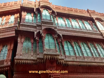 Windows of Rampuria Haveli