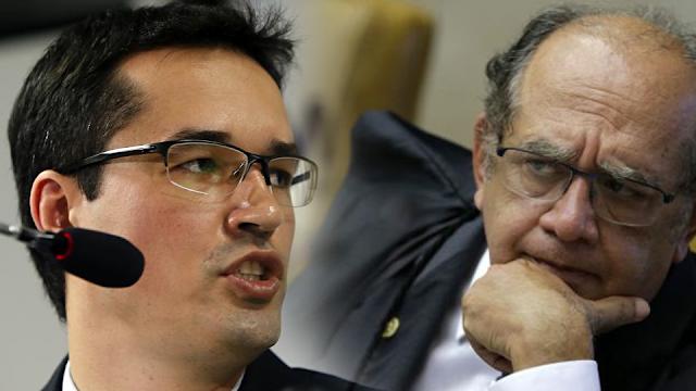 Gilmar Mendes critica Dallagnol e diz que Lava Jato virou partido