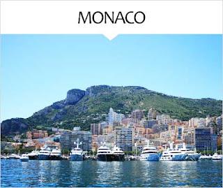 My Travel Background : Voyage Europe Monaco