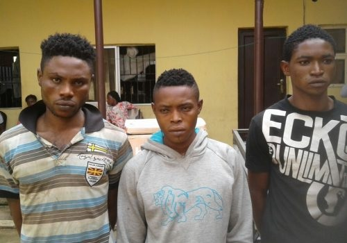 Notorious Lagos Awawaa Boys' Kingpin, Scorpion, Finally Arrested by Task Force at Dopemu
