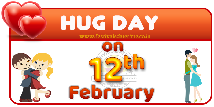 Hug Day Date in Valentine Week