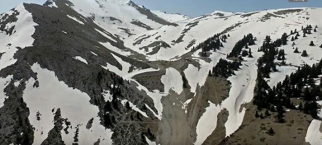 Καλάβρυτα: Φοβερό βίντεο drone με τα πρώτα χιόνια στο χιονοδρομικό κέντρο