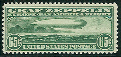 US Zeppelin stamp